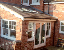 Extension specialists in lichfield staffordshire ph c for Flat pack garden room