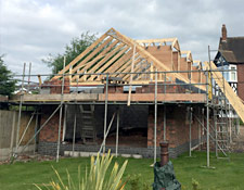 New Build in Progress Lichfield Staffordshire